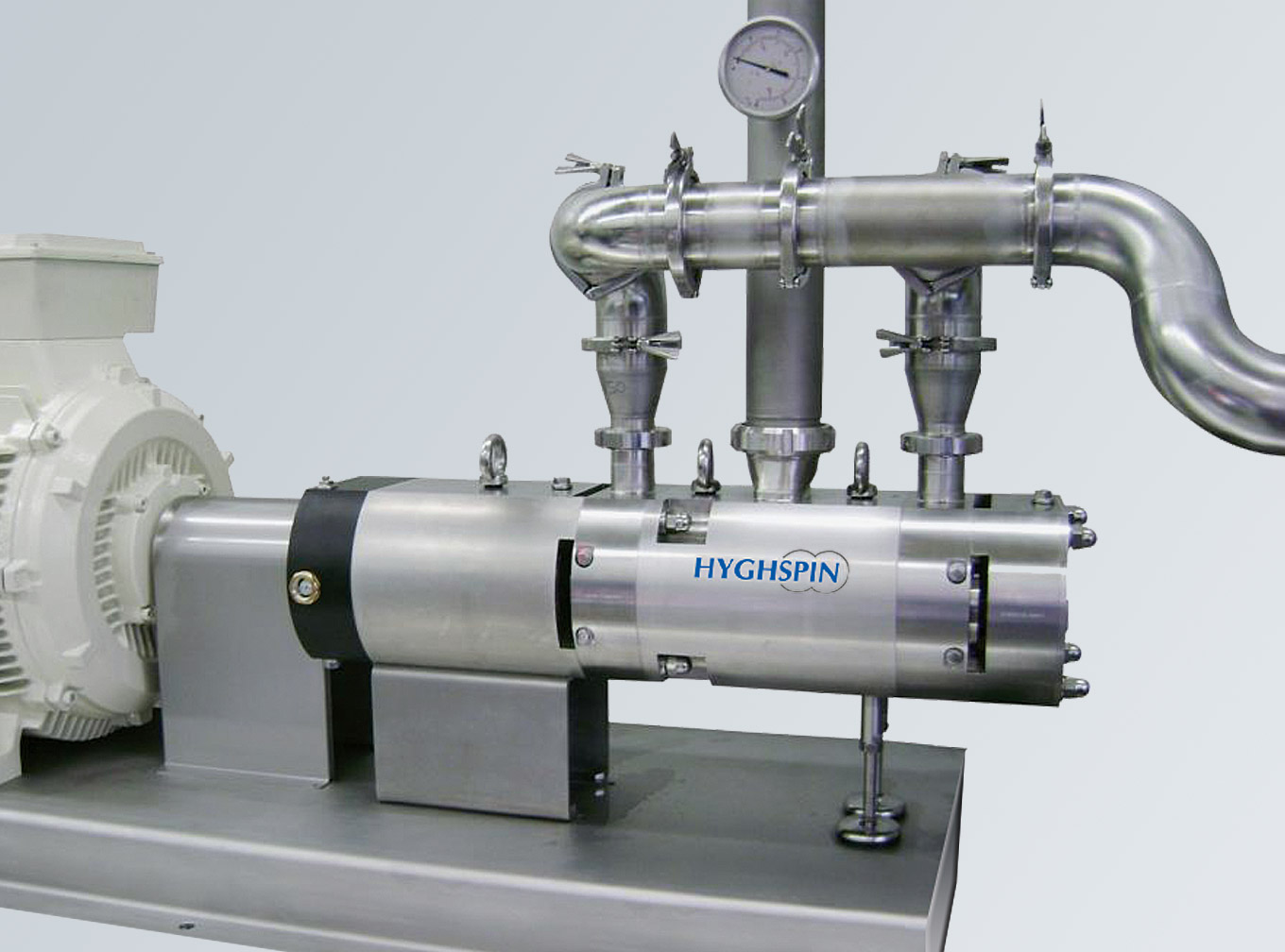 HYGHSPIN Double Flow Aggregat