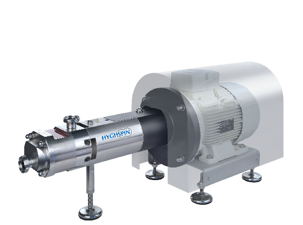 Compact Jung twin screw pump for conveying flow capable products
