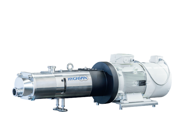 Jung twin screw pump for high volume flows or large lumpy pieces